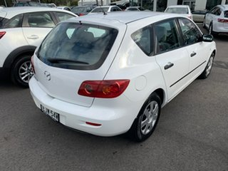 2004 Mazda 3 BK10F1 Neo White 4 Speed Sports Automatic Hatchback.