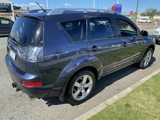 2008 Mitsubishi Outlander ZG MY08 VR Limited Edition (7 Seat) Blue 6 Speed Auto Sports Mode Wagon