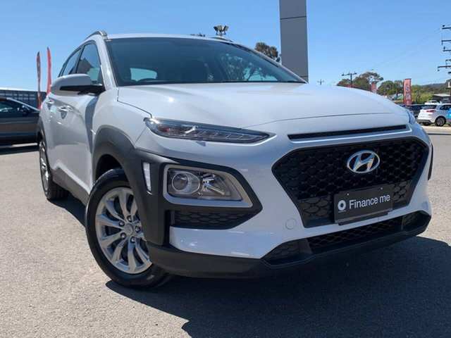 Used Hyundai Kona  Go, 2019 Hyundai Kona Go White Sports Automatic Wagon