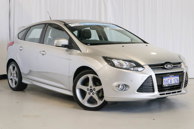 Used Ford Focus LW MkII Titanium PwrShift, 2014 Ford Focus LW MkII Titanium PwrShift White 6 Speed Automatic Hatchback