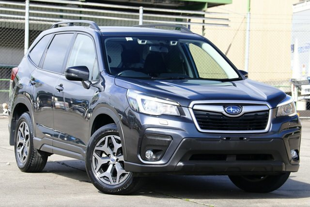 Used Subaru Forester MY19 2.5I-L (AWD), 2018 Subaru Forester MY19 2.5I-L (AWD) Crystal Black Continuous Variable Wagon