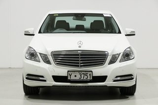 2010 Mercedes-Benz E250 212 CGI Elegance White 5 Speed Automatic Sedan.