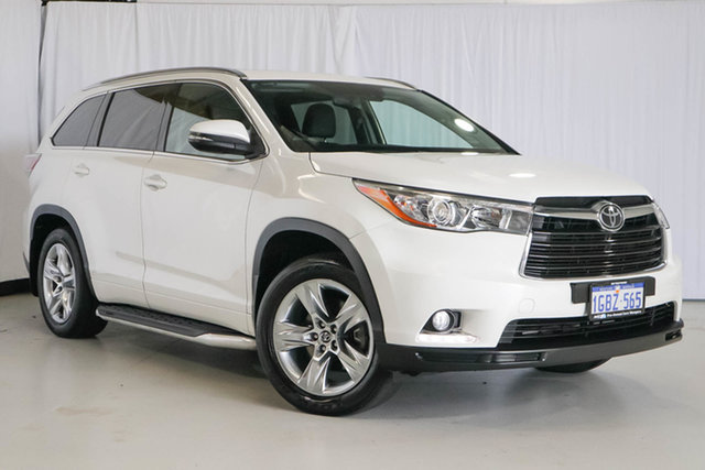 Used Toyota Kluger GSU55R Grande AWD, 2016 Toyota Kluger GSU55R Grande AWD White 8 Speed Sports Automatic Wagon