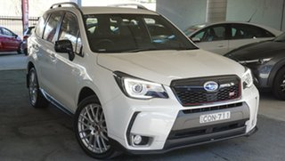 2016 Subaru Forester S4 MY16 tS CVT AWD White 8 Speed Constant Variable Wagon.