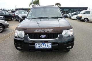 2005 Ford Escape ZB Limited Black 4 Speed Automatic SUV.