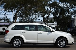 2013 Fiat Freemont JF Base White 6 Speed Automatic Wagon.
