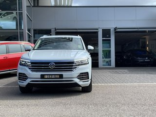 2020 Volkswagen Touareg CR MY20 190TDI Tiptronic 4MOTION Adventure White 8 Speed Sports Automatic.
