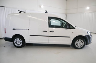 2014 Volkswagen Caddy 2KN MY14 TDI250 SWB DSG White 7 Speed Sports Automatic Dual Clutch Van.