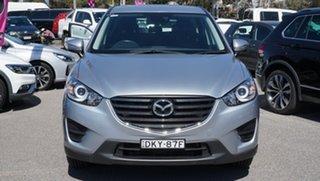 2016 Mazda CX-5 KE1072 Maxx SKYACTIV-Drive Silver 6 Speed Sports Automatic Wagon.
