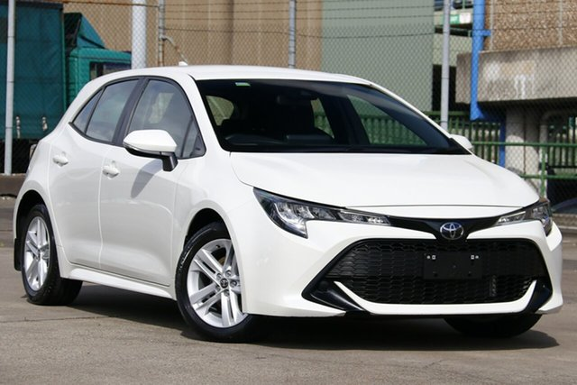 Used Toyota Corolla Mzea12R Ascent Sport, 2019 Toyota Corolla Mzea12R Ascent Sport White Pearl Continuous Variable Hatchback
