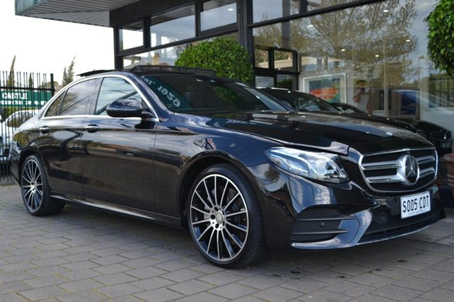 Used Mercedes-Benz E-Class W213 E350 d 9G-Tronic PLUS, 2016 Mercedes-Benz E-Class W213 E350 d 9G-Tronic PLUS Black 9 Speed Sports Automatic Sedan