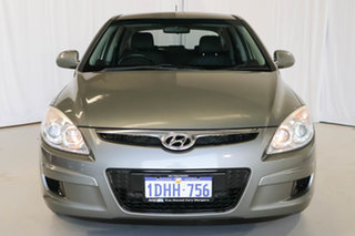 2010 Hyundai i30 FD MY10 SX Grey 4 Speed Automatic Hatchback