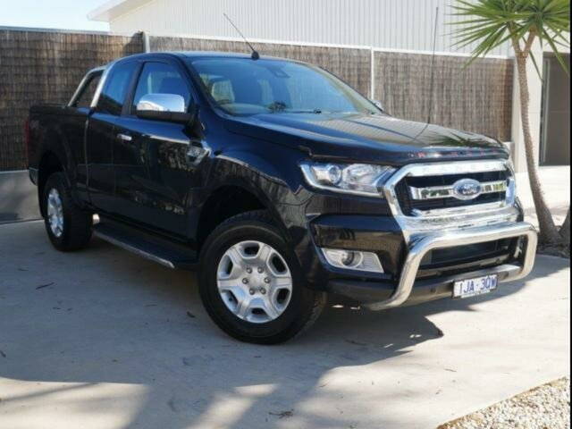 Used Ford Ranger PX MkII MY17 XLT 3.2 (4x4), 2017 Ford Ranger PX MkII MY17 XLT 3.2 (4x4) 6 Speed Automatic Super Cab Utility