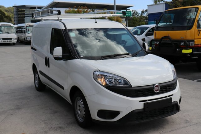 Used Fiat Doblo 263 Series 1 Low Roof SWB Comfort-matic, 2017 Fiat Doblo 263 Series 1 Low Roof SWB Comfort-matic White 5 speed Automatic Van
