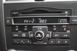 2011 Honda CR-V RE MY2011 4WD Black 6 Speed Manual Wagon