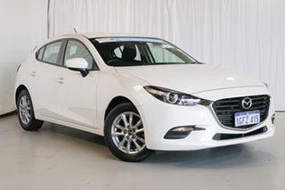 2017 Mazda 3 BN5478 Neo SKYACTIV-Drive White 6 Speed Sports Automatic Hatchback.