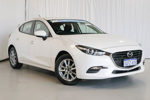 Used Mazda 3 BN5478 Neo SKYACTIV-Drive, 2017 Mazda 3 BN5478 Neo SKYACTIV-Drive White 6 Speed Sports Automatic Hatchback