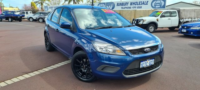 Used Ford Focus LV CL, 2010 Ford Focus LV CL Blue 4 Speed Sports Automatic Hatchback