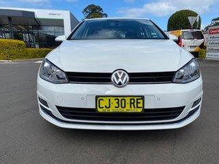 2016 Volkswagen Golf VII MY17 110TDI DSG Highline White 6 Speed Sports Automatic Dual Clutch.