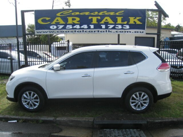 Used Nissan X-Trail T32 ST (FWD), 2014 Nissan X-Trail T32 ST (FWD) White Continuous Variable Wagon
