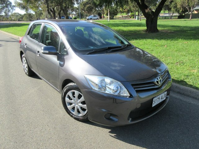 Used Toyota Corolla ZRE152R MY10 Ascent, 2010 Toyota Corolla ZRE152R MY10 Ascent Grey 4 Speed Automatic Hatchback