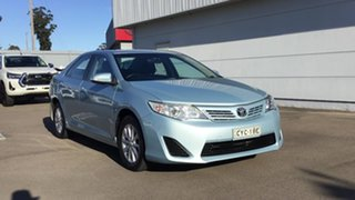 2013 Toyota Camry ASV50R Altise Blue 6 Speed Sports Automatic Sedan.