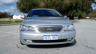 2004 Ford Fairlane BA G220 Silver 4 Speed Sports Automatic Sedan