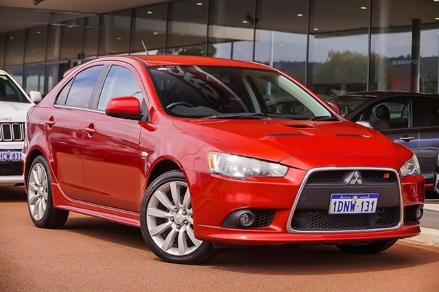 Used Mitsubishi Lancer CJ MY09 Ralliart Sportback TC-SST, 2009 Mitsubishi Lancer CJ MY09 Ralliart Sportback TC-SST Red 6 Speed Sports Automatic Dual Clutch