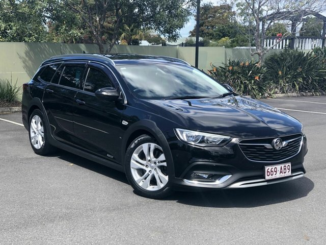 Used Holden Calais ZB MY18 Tourer AWD, 2018 Holden Calais ZB MY18 Tourer AWD Black 9 Speed Sports Automatic Wagon