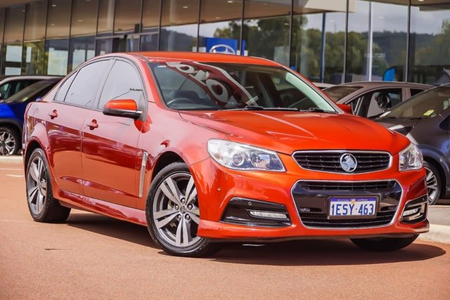 Used Holden Commodore VF II MY16 SV6, 2015 Holden Commodore VF II MY16 SV6 Red 6 Speed Sports Automatic Sedan