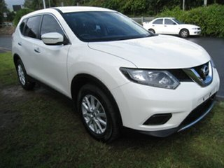 2014 Nissan X-Trail T32 ST (FWD) White Continuous Variable Wagon