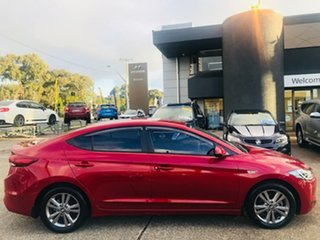 2016 Hyundai Elantra AD MY17 Active Red 6 Speed Manual Sedan