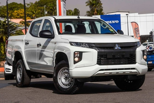 Used Mitsubishi Triton MR MY19 GLX Double Cab, 2019 Mitsubishi Triton MR MY19 GLX Double Cab White 6 Speed Manual Utility