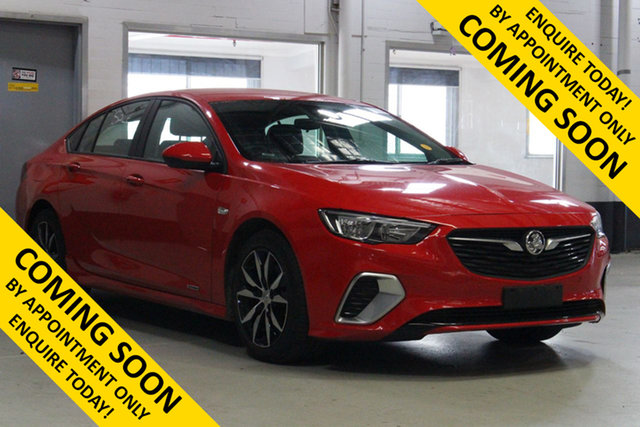 Used Holden Commodore ZB RS (5Yr), 2019 Holden Commodore ZB RS (5Yr) Red 9 Speed Automatic Liftback