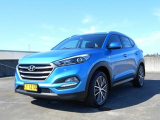 2015 Hyundai Tucson TL Active X 2WD Blue 6 Speed Sports Automatic Wagon