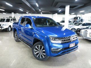 2018 Volkswagen Amarok 2H MY19 TDI580 4MOTION Perm Ultimate Blue 8 Speed Automatic Utility.