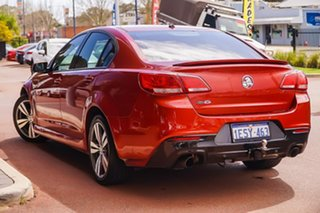 2015 Holden Commodore VF II MY16 SV6 Red 6 Speed Sports Automatic Sedan.