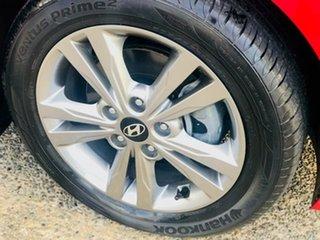 2016 Hyundai Elantra AD MY17 Active Red 6 Speed Manual Sedan