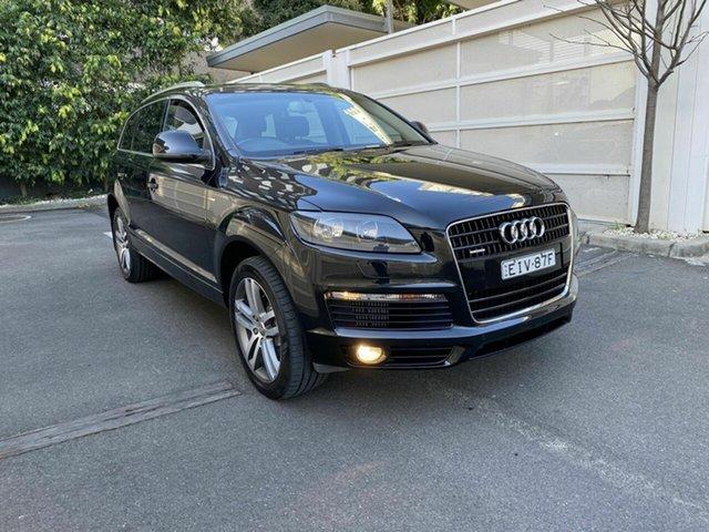 Used Audi Q7 MY08 TDI Quattro, 2008 Audi Q7 MY08 TDI Quattro Black 6 Speed Sports Automatic Wagon