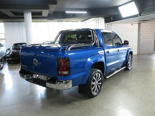 2018 Volkswagen Amarok 2H MY19 TDI580 4MOTION Perm Ultimate Blue 8 Speed Automatic Utility