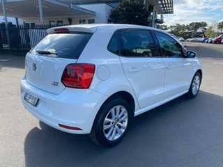 2015 Volkswagen Polo 6R MY15 81TSI Comfortline White 6 Speed Manual Hatchback