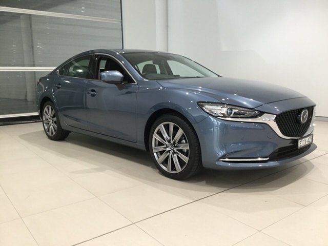 Used Mazda 6 GL1033 GT SKYACTIV-Drive, 2019 Mazda 6 GL1033 GT SKYACTIV-Drive Blue Reflex 6 Speed Sports Automatic Sedan