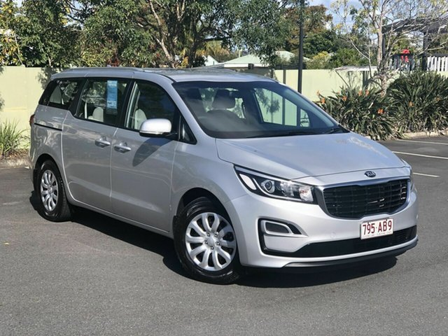 Used Kia Carnival YP MY19 S, 2019 Kia Carnival YP MY19 S Silver 8 Speed Sports Automatic Wagon