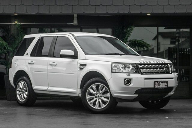 Used Land Rover Freelander 2 LF MY15 TD4 CommandShift, 2014 Land Rover Freelander 2 LF MY15 TD4 CommandShift White 6 Speed Sports Automatic Wagon