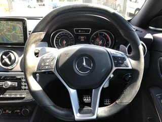 2014 Mercedes-Benz CLA-Class C117 805+055MY CLA45 AMG SPEEDSHIFT DCT 4MATIC Black 7 Speed
