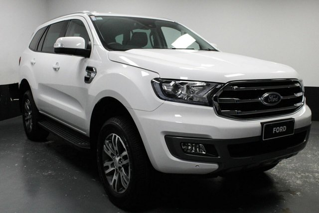 Used Ford Everest UA II 2019.00MY Trend, 2019 Ford Everest UA II 2019.00MY Trend White 10 Speed Sports Automatic SUV
