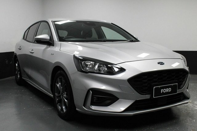 Used Ford Focus SA 2019.75MY ST-Line, 2019 Ford Focus SA 2019.75MY ST-Line Silver 8 Speed Automatic Hatchback