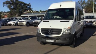 2014 Mercedes-Benz Sprinter NCV3 MY14 310CDI Low Roof SWB 7G-Tronic White 7 Speed Sports Automatic.