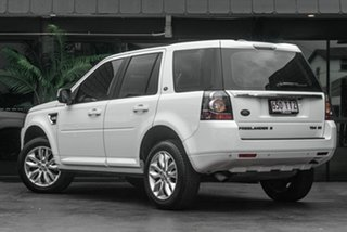 2014 Land Rover Freelander 2 LF MY15 TD4 CommandShift White 6 Speed Sports Automatic Wagon.