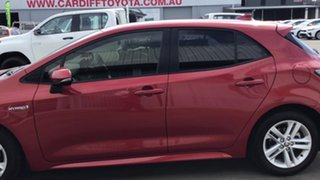 2018 Toyota Corolla ZWE211R SX E-CVT Hybrid Red 10 Speed Constant Variable Hatchback Hybrid